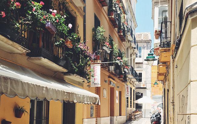 Calles por las que pasear en Málaga