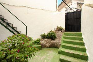 Puerta de atrás casita Ronda