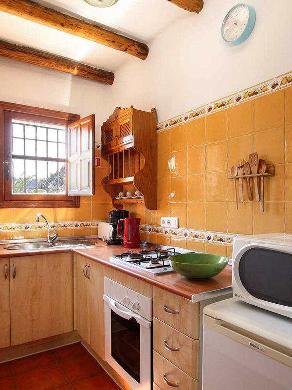 Cocinas totalmente equipadas con cafetera y microondas