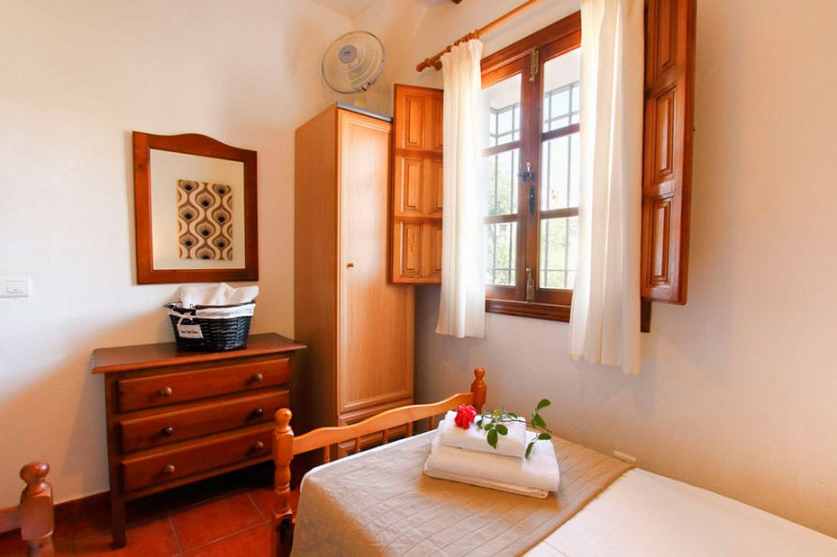 habitaciones individuales en casita grazalema