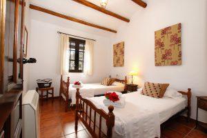 Habitaciones individuales en casita Gaucín